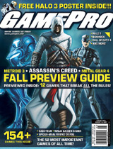 GamePro August 2007 Cover