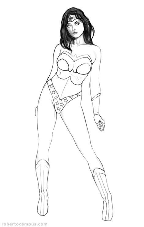 Photoshop Tutorial Wonder Woman Pin Up Digital Painting The Art